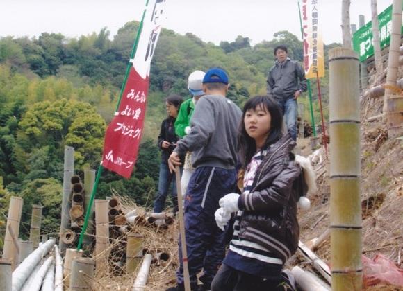竹林再生プロジェクト大内